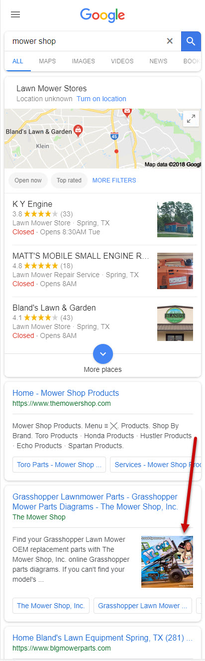 Local Search Mobile Image Thumbnails 5