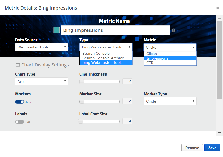 Bing Analytics in Insight Graph