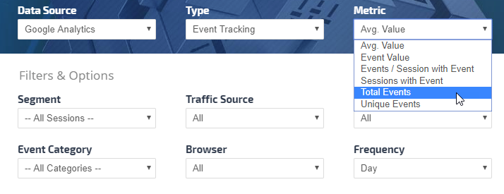 Google Analytics Events tracking