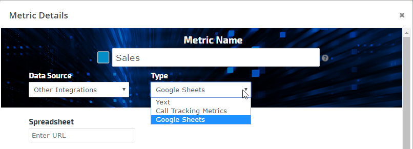 Add data from Google Sheets to an Insight Graph