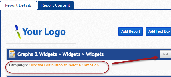 Add Campaigns to reports