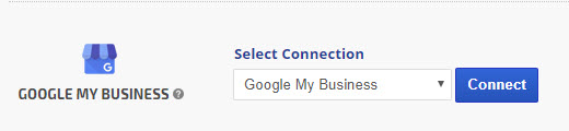 select GMB connection name and click connect