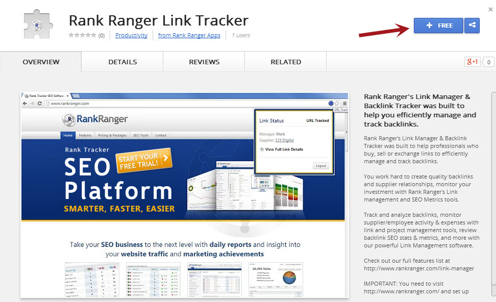 Link Tracker Chrome Extension