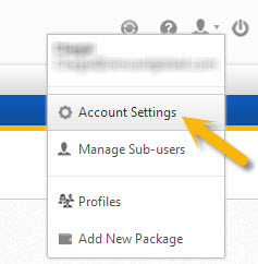Access Account Settings