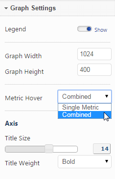 Select Insight Graph Settings